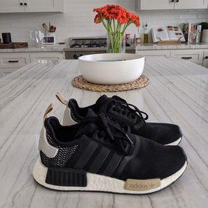 Adidas Womens NMD R1 black/white/tan